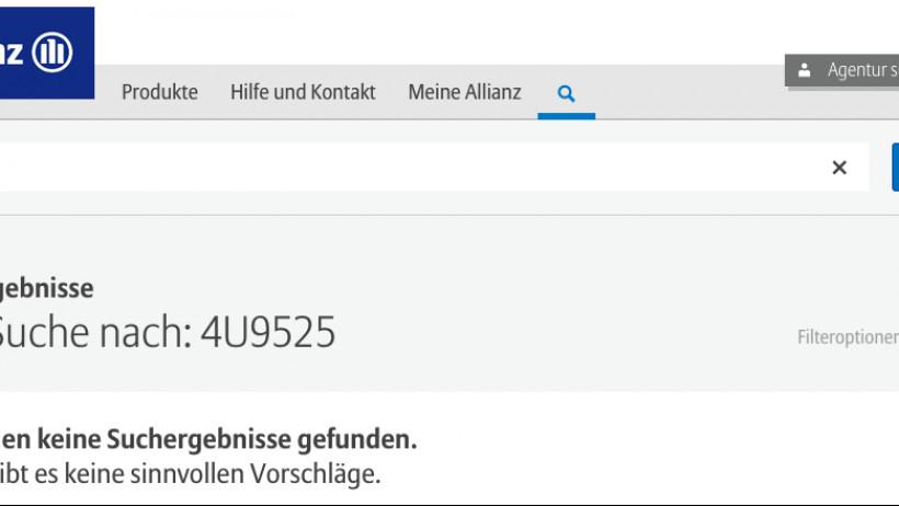 Germanwings Allianz Hotline Kaum Zu Finden Bei Axa Debeka Oder