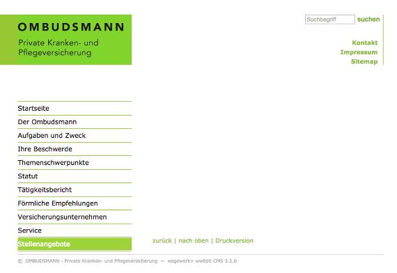 Muster Schreiben Ombudsmann - Ineas Werbung Mit Finanztest Siegeln ...